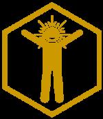 Begeistert-hexaF-button-250